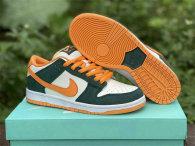 Authentic Nike Dunk Low Legoh Pihe/Kumoua-Flat Oral Vert