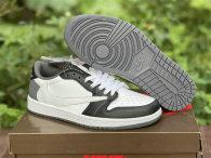 Authentic Travis Scott x Air Jordan 1 Low OG Black/White