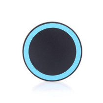 Round Slim Portable Wireless Charger for Mobile Phone