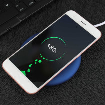 Hot Selling Mini Flat Fast Wireless Charger for Mobile Phone