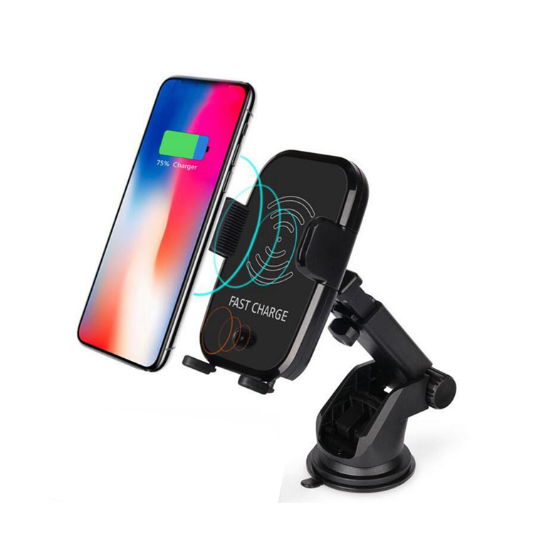 10W Infrared Wireless Charger Car Mount Automatic Charging Air Vent Holder Wireless Car Charger