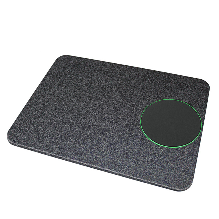 Universal 10W Qi Wireless Charger Mouse Pad