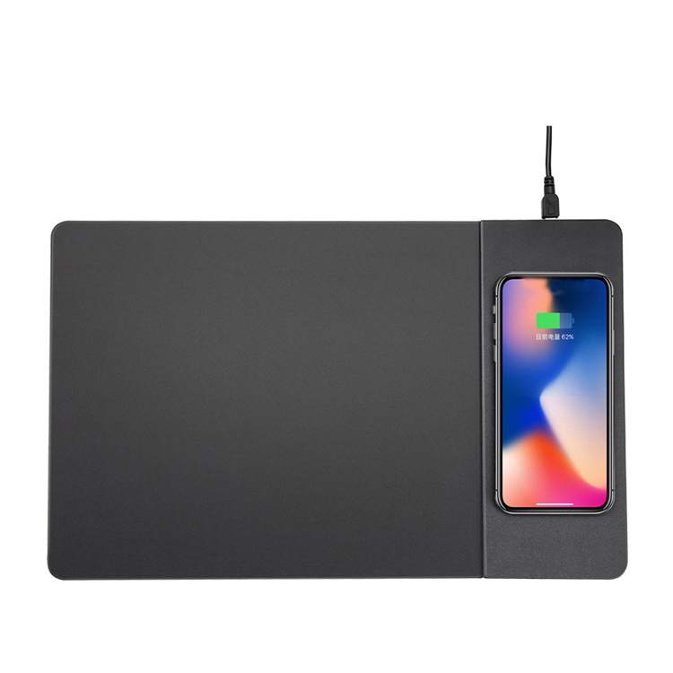Cell Phone Qi Wireless Charger Mouse Pad Mat 10W