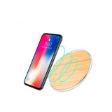 QI Wireless Charger Wooden Wireless Charging Pad Qi Wireless Charger Wood