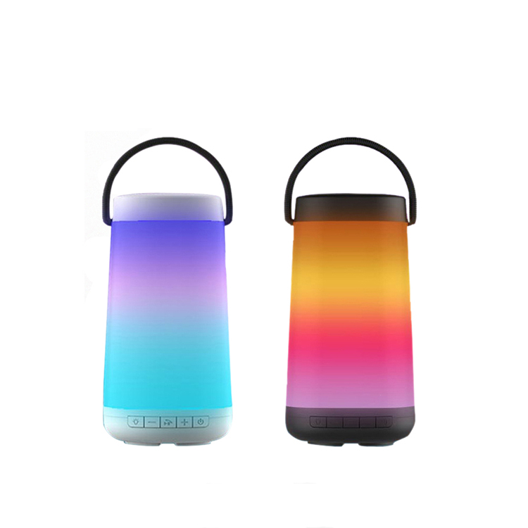 New Flame Lamp Led Light bluetooth Speaker Multi-functional Torch Colorful Atmosphere Lamp Audio Candlelight Speaker