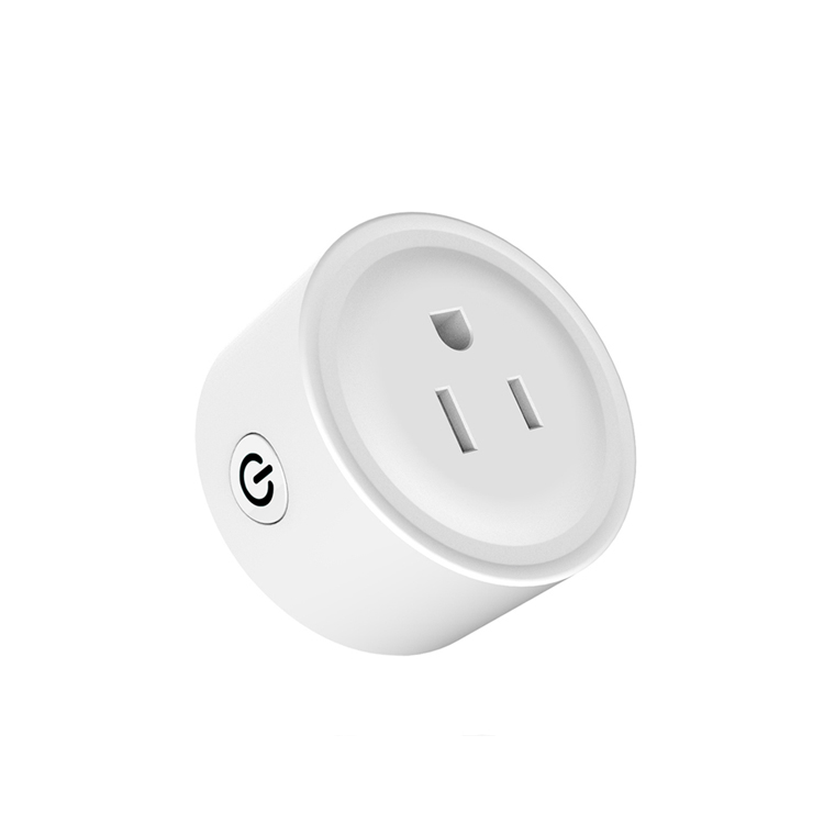 Wi-fi Smart Socket Mini Smart Plug APP Remote Control Timing Round Shape Google Home Wireless Outlet for Smart Home Automation