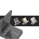 Magnetic Power Bank 3200mah For IOS/Micro USB/Type C