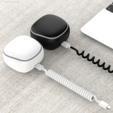 2300 mah Portable Spring Cable 3 in 1 Charging Box Power Bank