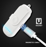 Magnet Charger Power Bank For IOS/Android/Type C 1000mAh Mini Magnetic Power Bank