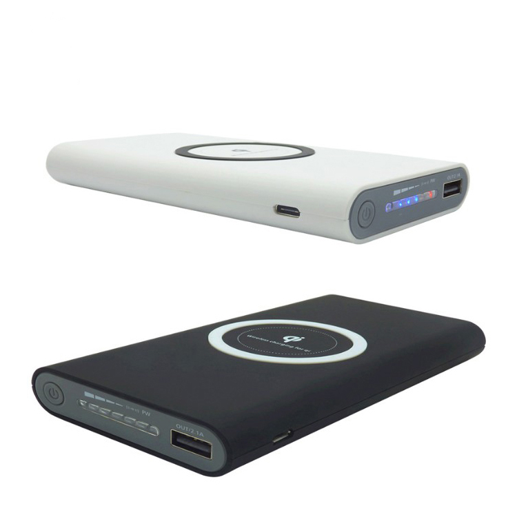 10000mAh Portable Qi Wireless Power Bank