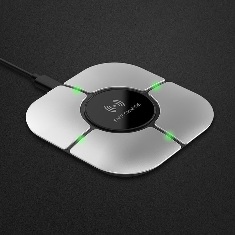 2019 new arrivals portable fast charging pad 10W wireless charge