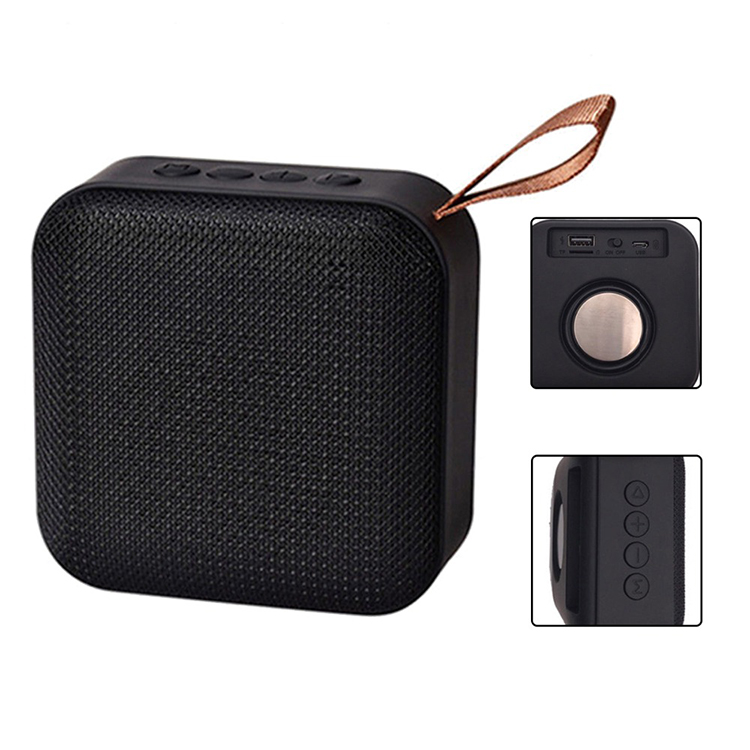 newest portable mini wireless speakers cloth fabric bluetooth speaker