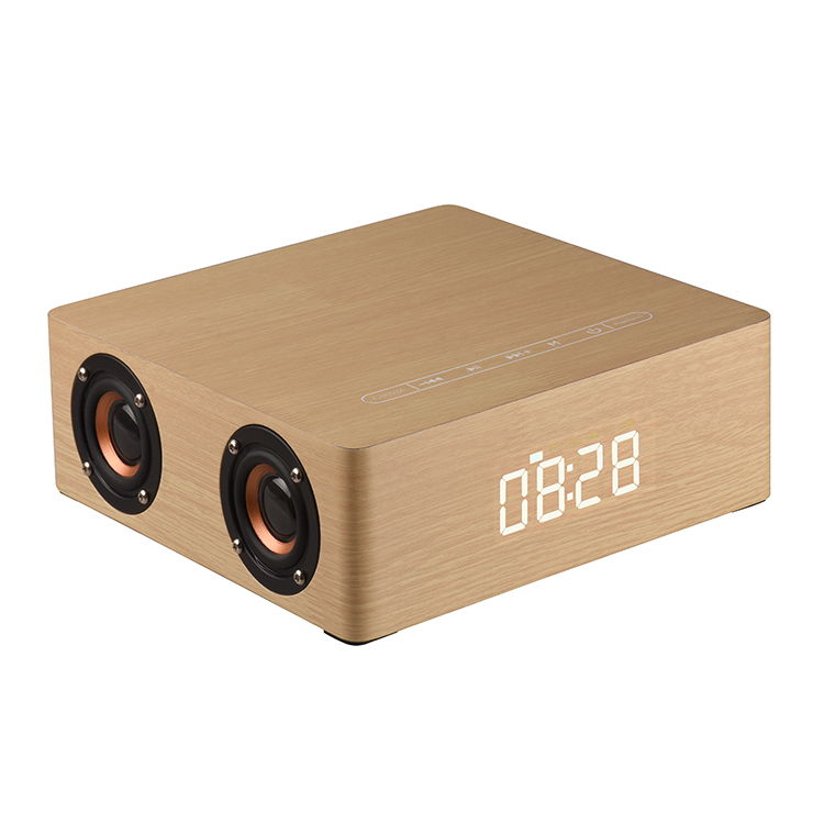 multifunct 12w wireless speaker bluetooth with alarm clock