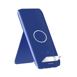 10000mAh QI Wireless Charger Power Bank For Mobile Phone Powerbank with Stand Wireless External Battery Pack Bank