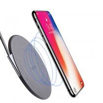 Universal Ultra-Thin Fast Qi Charger Bluetooth Charging Pad