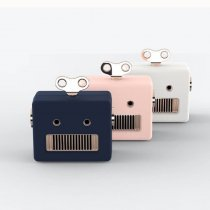 Robot Bluetooth Speaker Mini Cute Stereo Creative Outdoor Portable Wireless Speakers