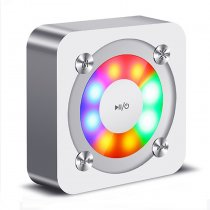Mini Portable Speakers Box with Flash Light LED Speaker Wireless
