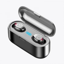Wireless Earphone Bluetooth V5.0 TWS Wireless Bluetooth Headphone LED Display With 1500mAh Power Bank Headset With Microphone