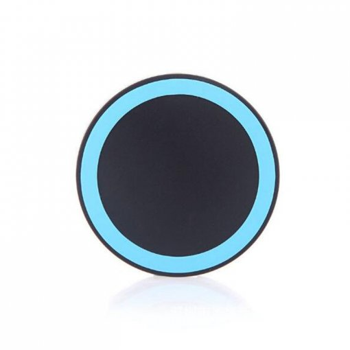 Factory Price Private Model Bluetooth Charger Mini Round Slim Portable Bluetooth Power Bank Charger