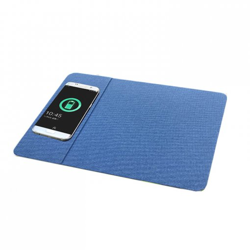 Qi Mobile Phone Fast Charging Bluetooth Charger Mouse Pad