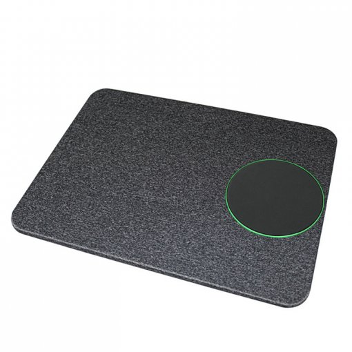 Universal Qi Bluetooth Charger Portable Mouse Pad Charger 2 in 1 Colorful Cloth Bluetooth Charger