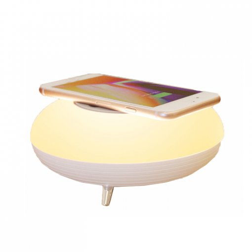 Comfortable New Design Led Bluetooth Charger with Light Lamp