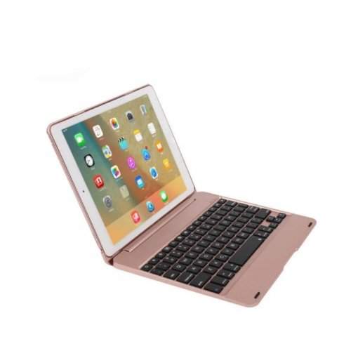For iPad Air1,Air 2, pro9.7 New Slim Wireless Bluetooth Keyboard+Slim Smart Case