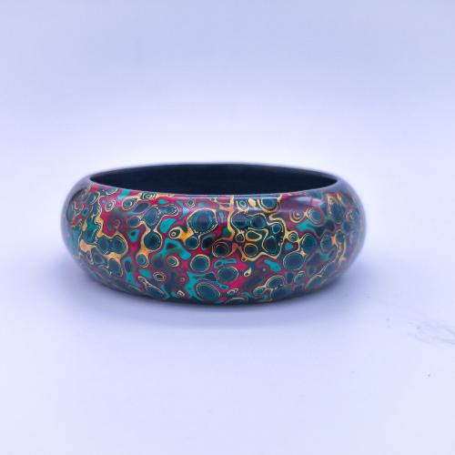 Pingyao Lacquer Bracelet - Colorful Life