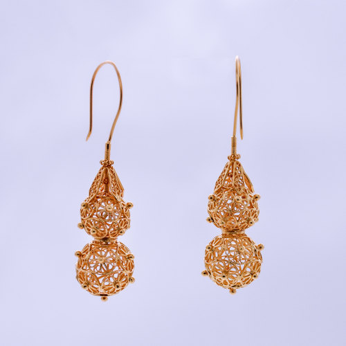 Filigree Earrings - Forest Collection - Hulu