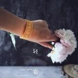 Forbidden City - Filigree Bracelet -  Gilt Silver