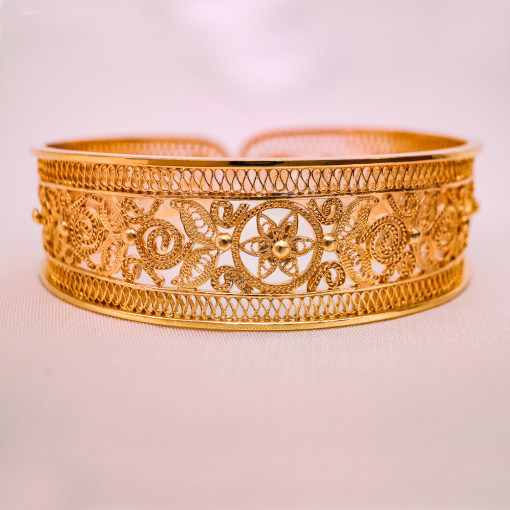 Filigree Bracelet -  Gilt Silver - Forbidden City