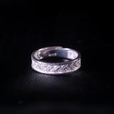 Wheat - Miao Silver Filigree Ring