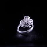 Butterfly Flower- Miao Silver Filigree Ring