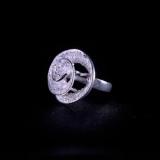 Clouds - Miao Silver Filigree Ring