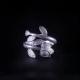Leaf - Miao Silver Filigree Ring