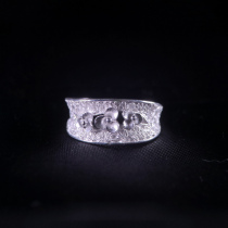 Flowers - Miao Silver Filigree Ring