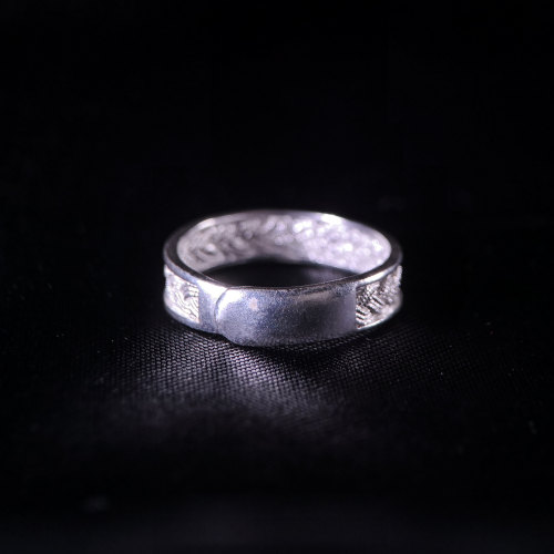 Wheat - Miao Silver Filigree Ring
