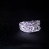 Stars - Miao Silver Filigree Ring