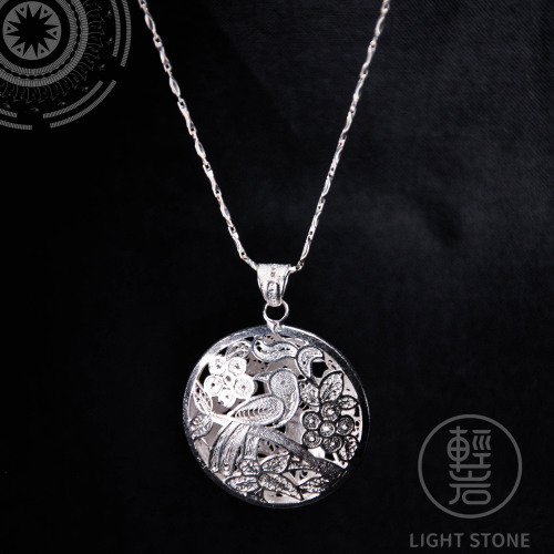 Spring - Miao Silver Filigree Necklace