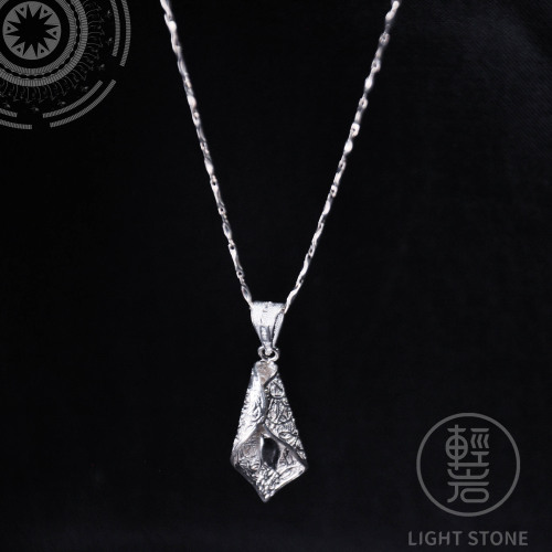 Sprout - Miao Silver Filigree Necklace