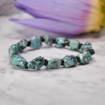 Night Sky - Turquoise Handmade Tibetan Bracelet