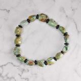 Spring Green - Turquoise Handmade Tibetan Bracelet