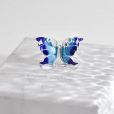 Best Online Earrings - Chinese Enamel Cloisonné Butterfly | LIGHT STONE