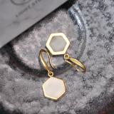 Best Online Earrings - Modern Design Handmade Chinese Jade - Silver Earrings | LIGHT STONE