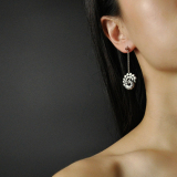 Peacock Earrings - Silver Handmade Jewelry - Best Online Shop | Light Stone
