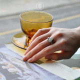 Hulu - Chinese Handmade Jade Silver Ring - Online Shop  | LIGHT STONE