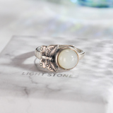 Butterfly - Vintage Chinese Jade Silver Ring - Online Shop | LIGHT STONE