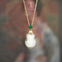 Hulu - Jade Silver Necklace