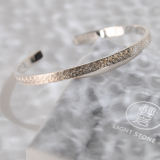 Online Shop - Chinese Yunnan Fine Silver Bracelet - Lucky Clouds   LIGHT STONE