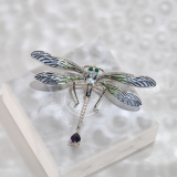 Dragonfly - Glass Enameling Brooch
